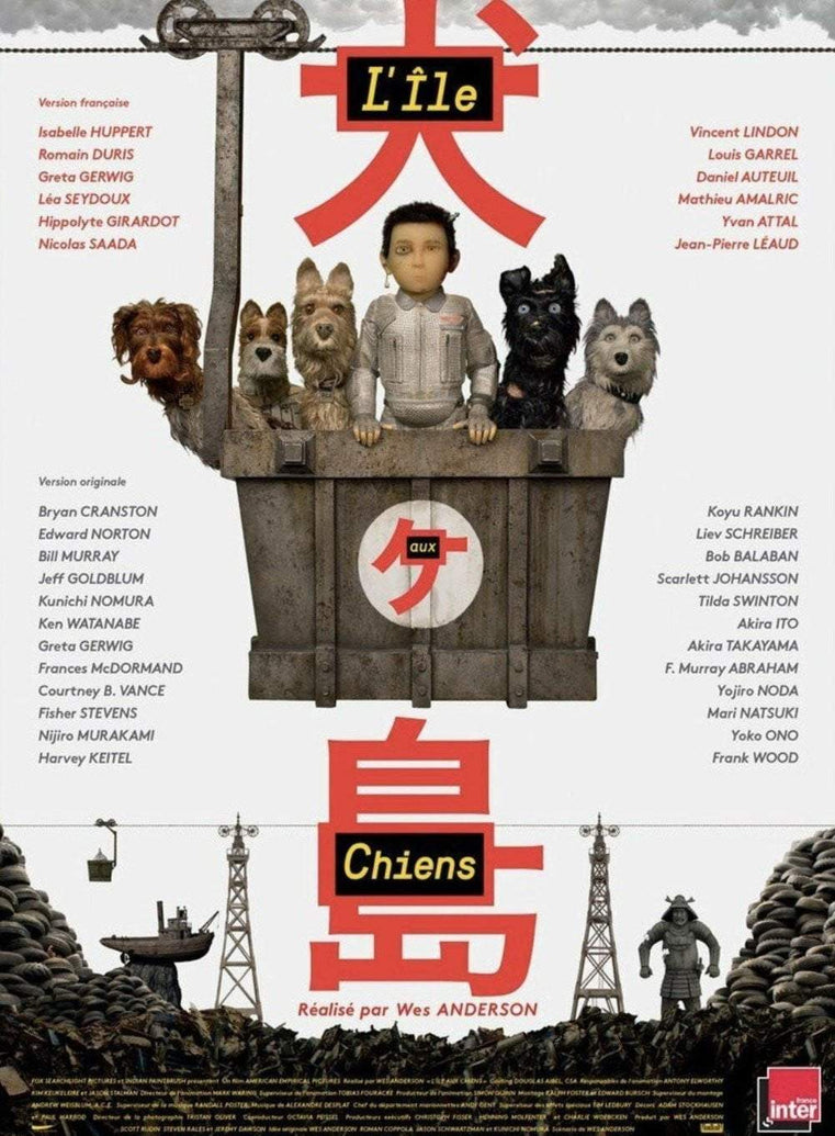Isle Of Dogs (French) - Printed Originals