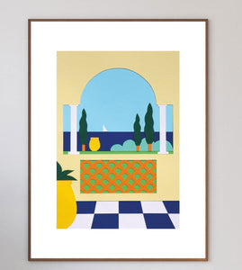 Jardin Mentonnais III Limited Art Print - Printed Originals