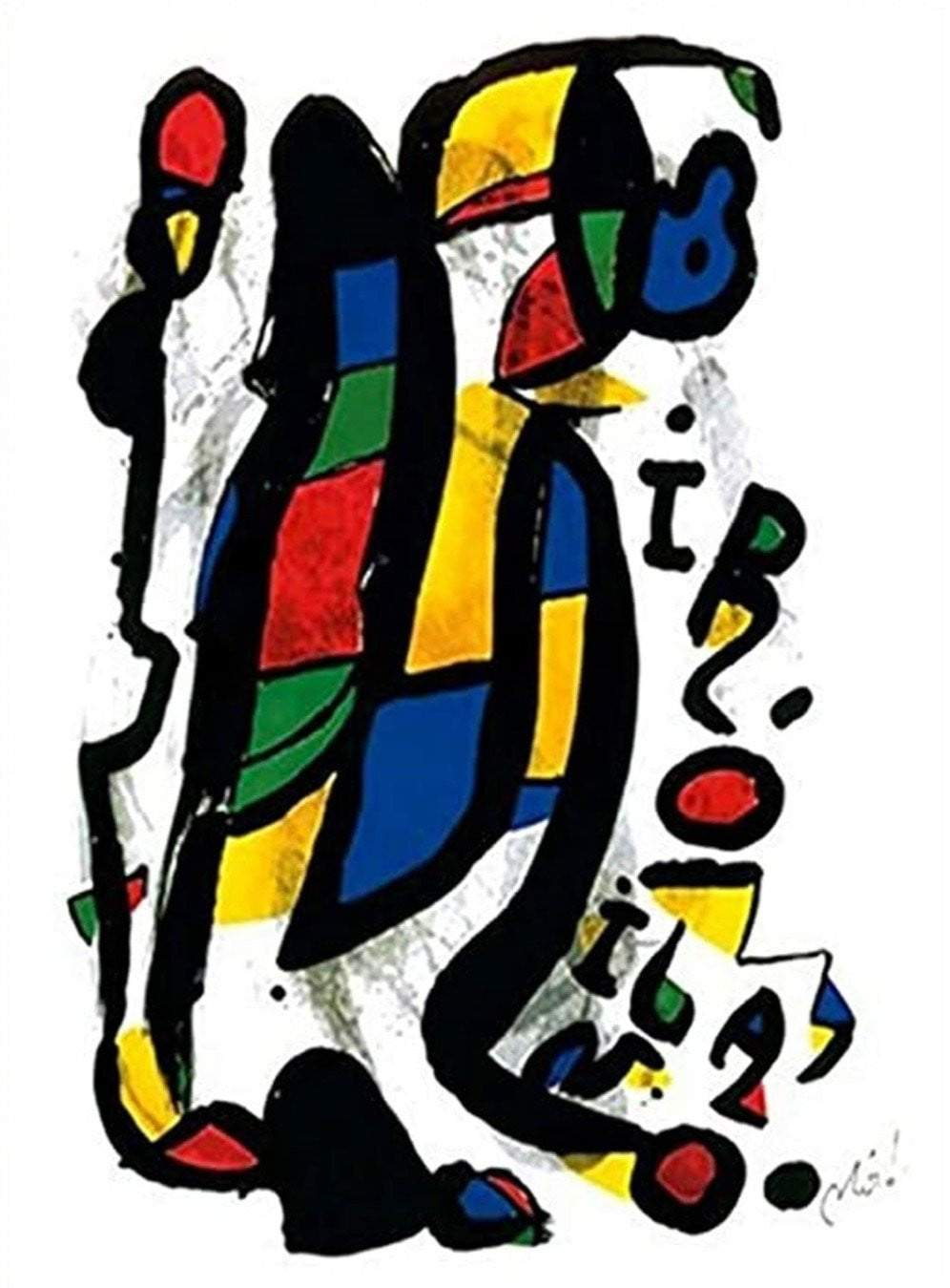 Joan Miro - Milano - Printed Originals