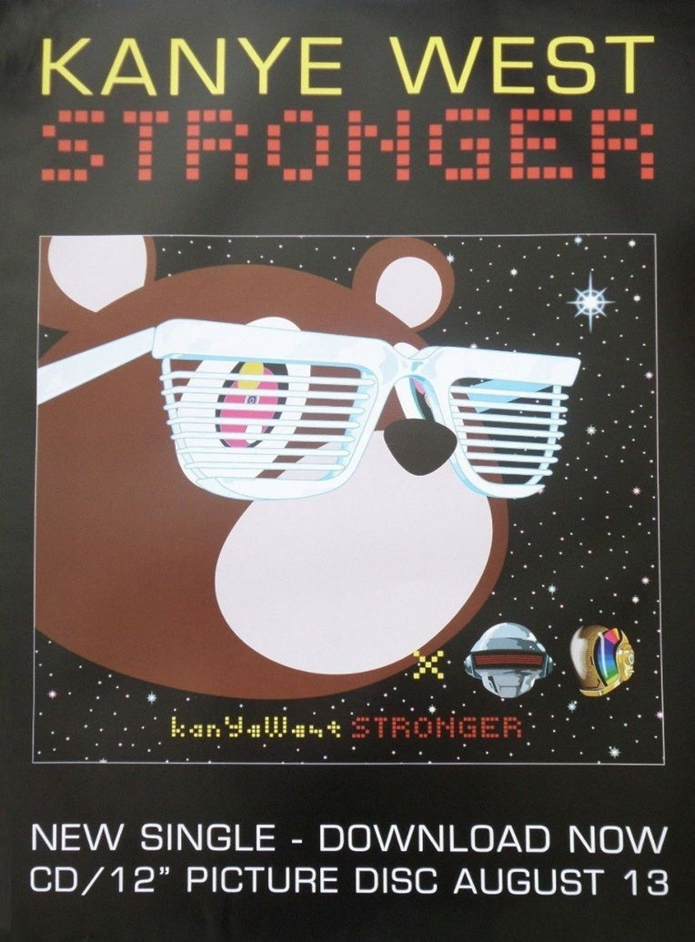 Kanye West - Stronger - Printed Originals