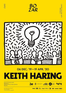 Keith Haring Bozar Exhibition - Printed Originals
