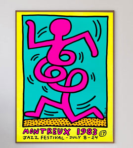 Keith Haring Montreux Jazz Festival Yellow