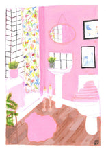 Load image into Gallery viewer, La Vie En Rose Limited Art Print - Printed Originals