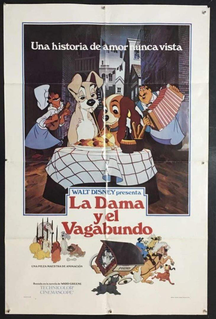 Lady and the Tramp (Spanish) - Printed Originals