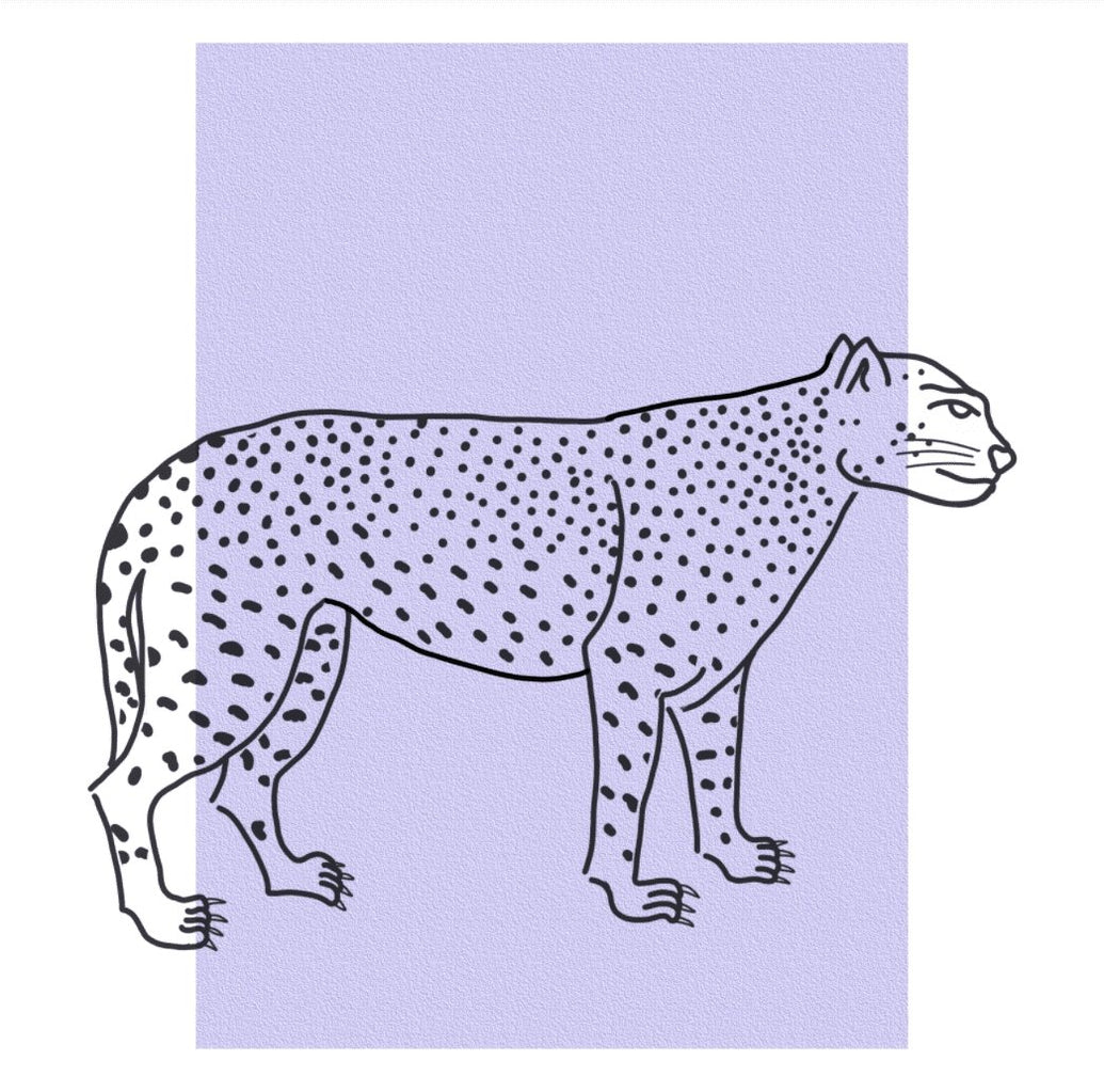 Le Guèpard Limited Art Print - Printed Originals