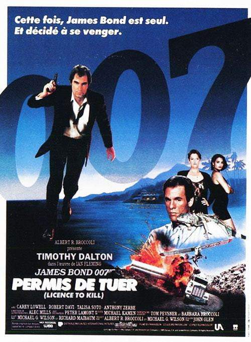 Licence to Kill (French) - Printed Originals