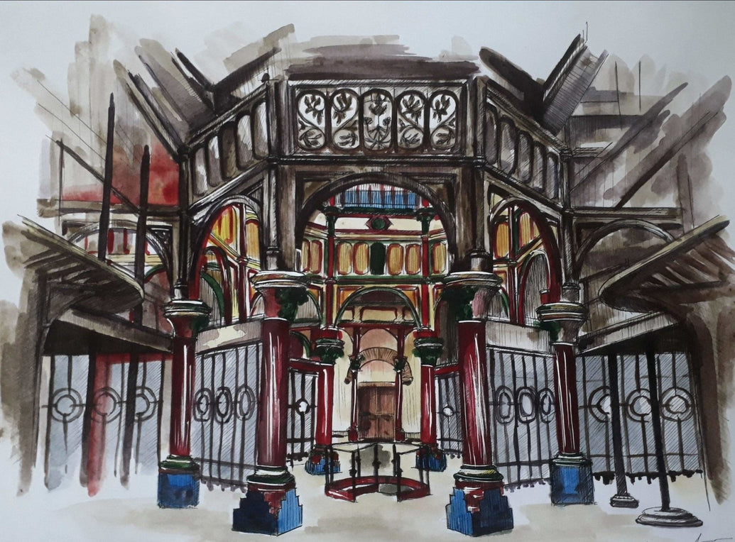 London Crossness Pumping Station Art Print - Printed Originals