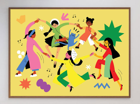 The Dance Limited Art Print