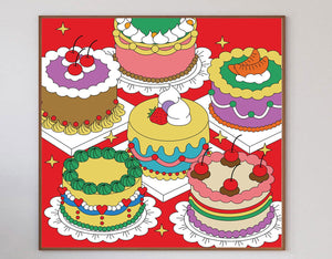 Beautiful Cakes Limited Art Print