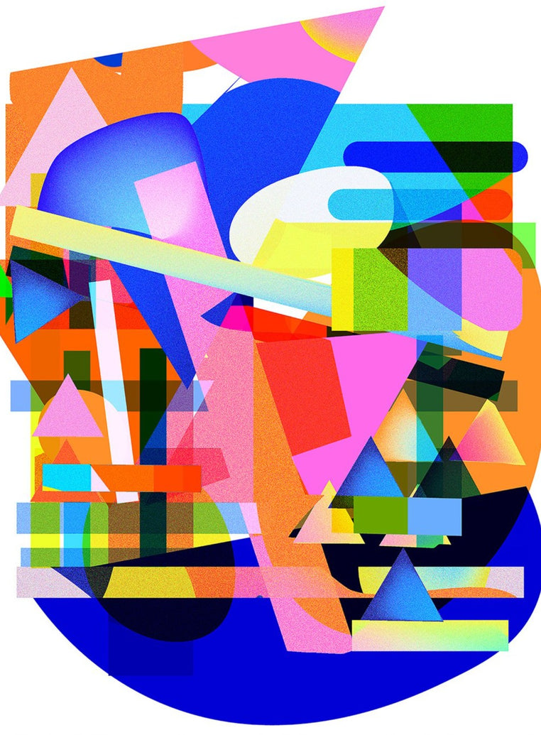 Abstract Composition I Limited Art Print