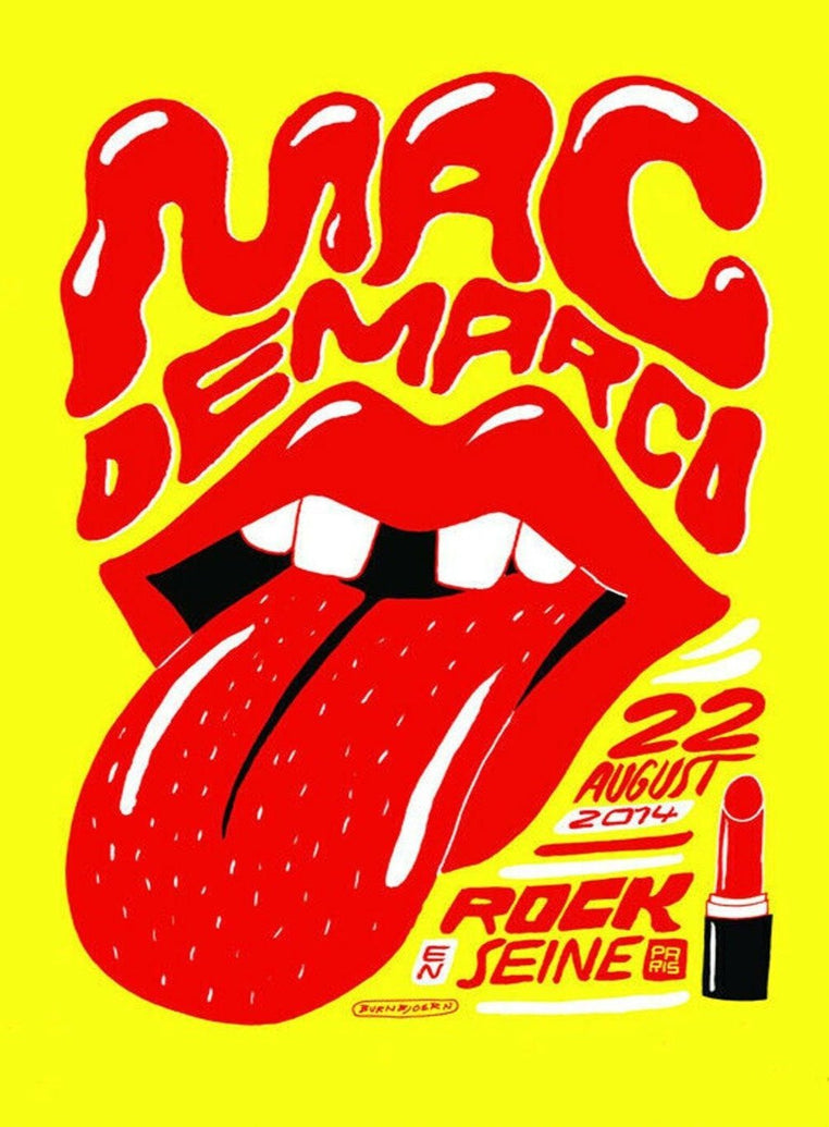 Mac DeMarco - Rock En Seine - Printed Originals