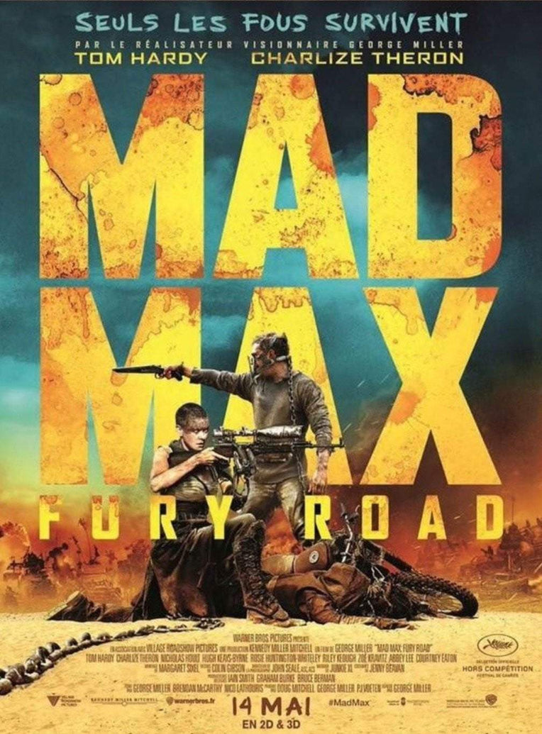 Mad Max: Fury Road (French) - Printed Originals