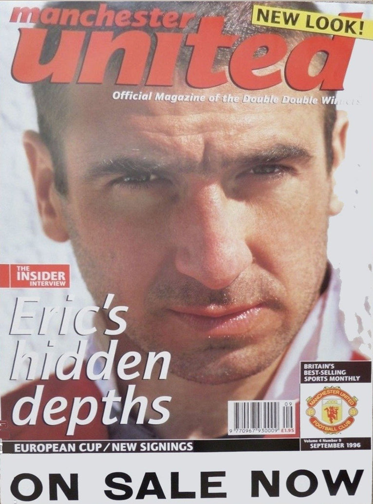 Manchester United - Eric Cantona - Printed Originals