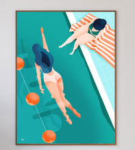 Load image into Gallery viewer, Swimmers Art Print