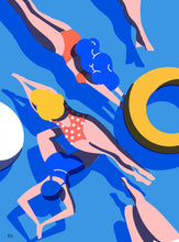 Load image into Gallery viewer, Swimmers III Art Print