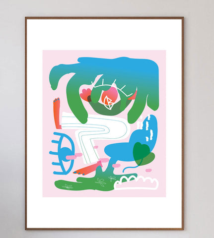 Abstract Playground Limited Art Print