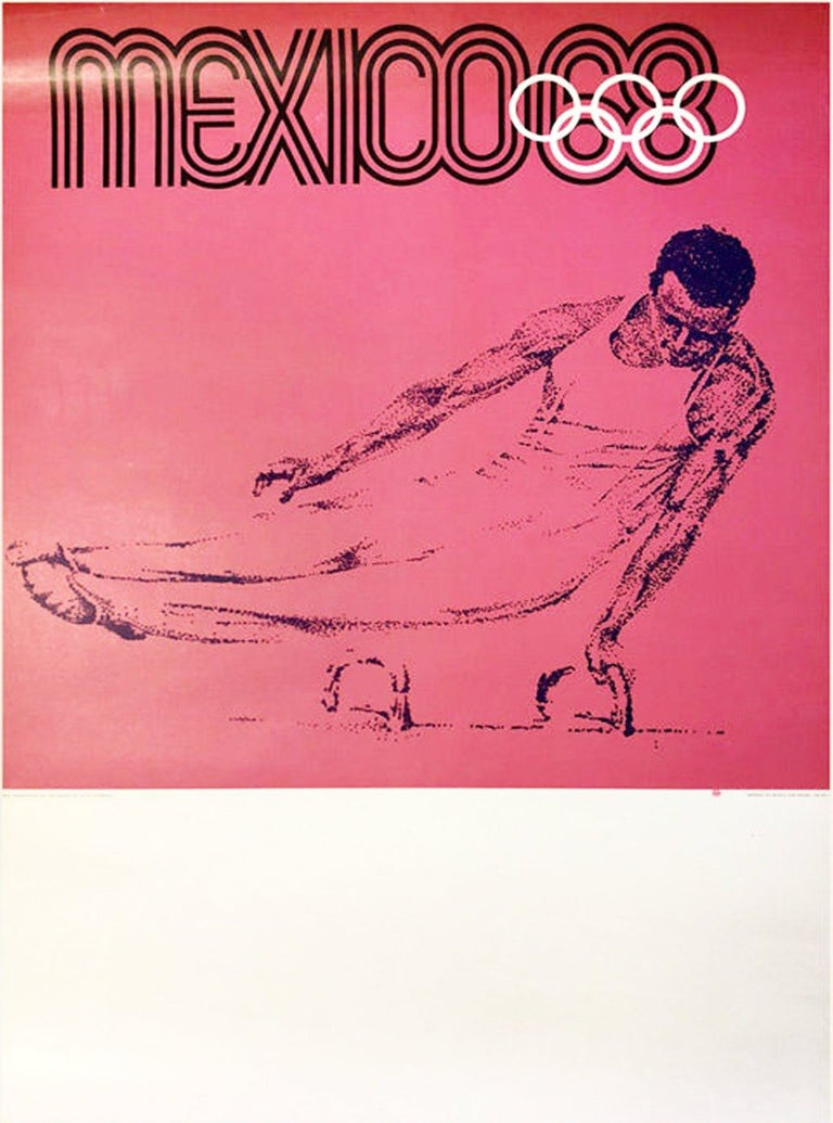 Mexico 1968 Olympics - Printed Originals