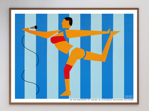 Grace Jones Limited Art Print