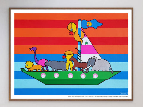 Lulus Ark Limited Art Print