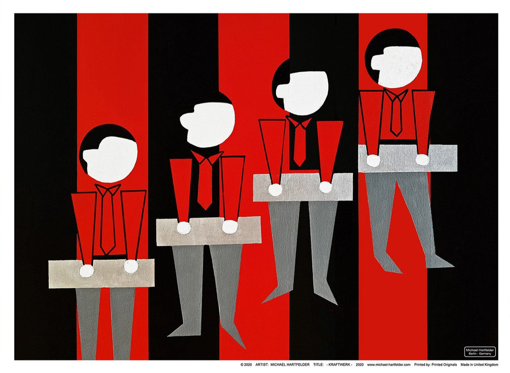 Kraftwerk Limited Art Print