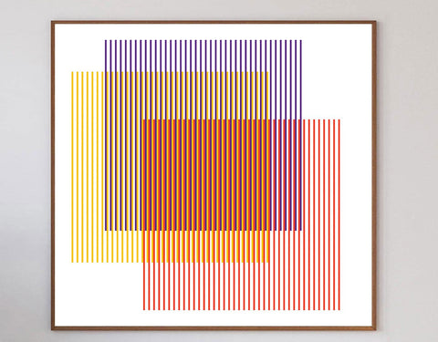 Blinds Limited Art Print