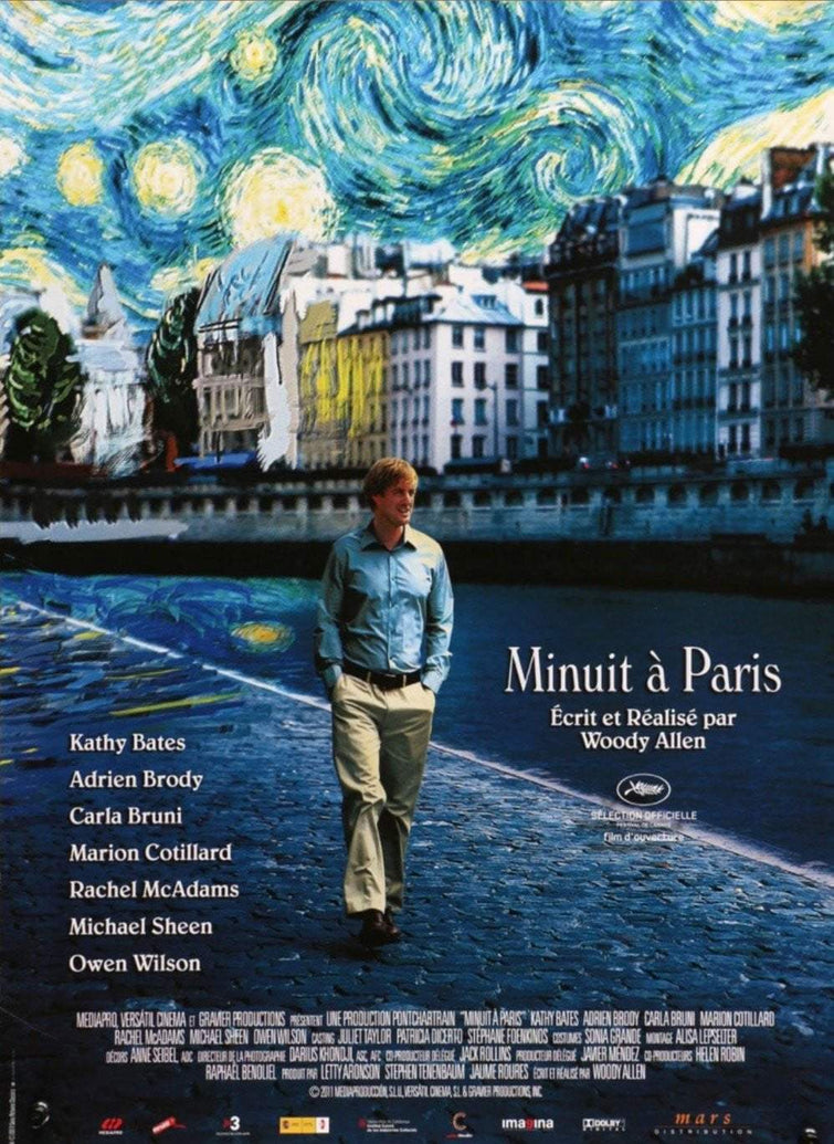 Midnight In Paris (French) - Printed Originals