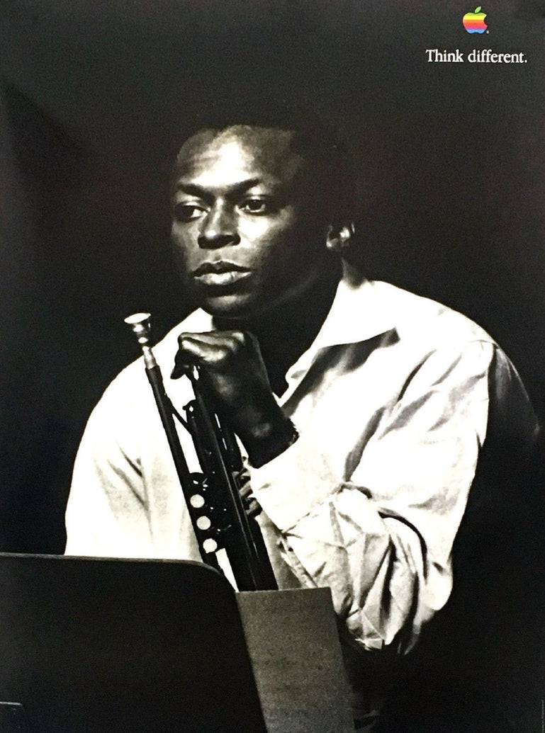 Apple Think Different - Miles Davis