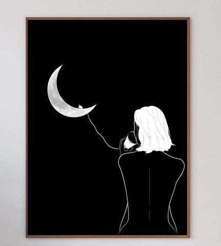 Moon Conversations Art Print
