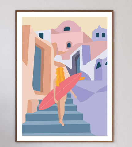 Moroccan Village Limited Art Print