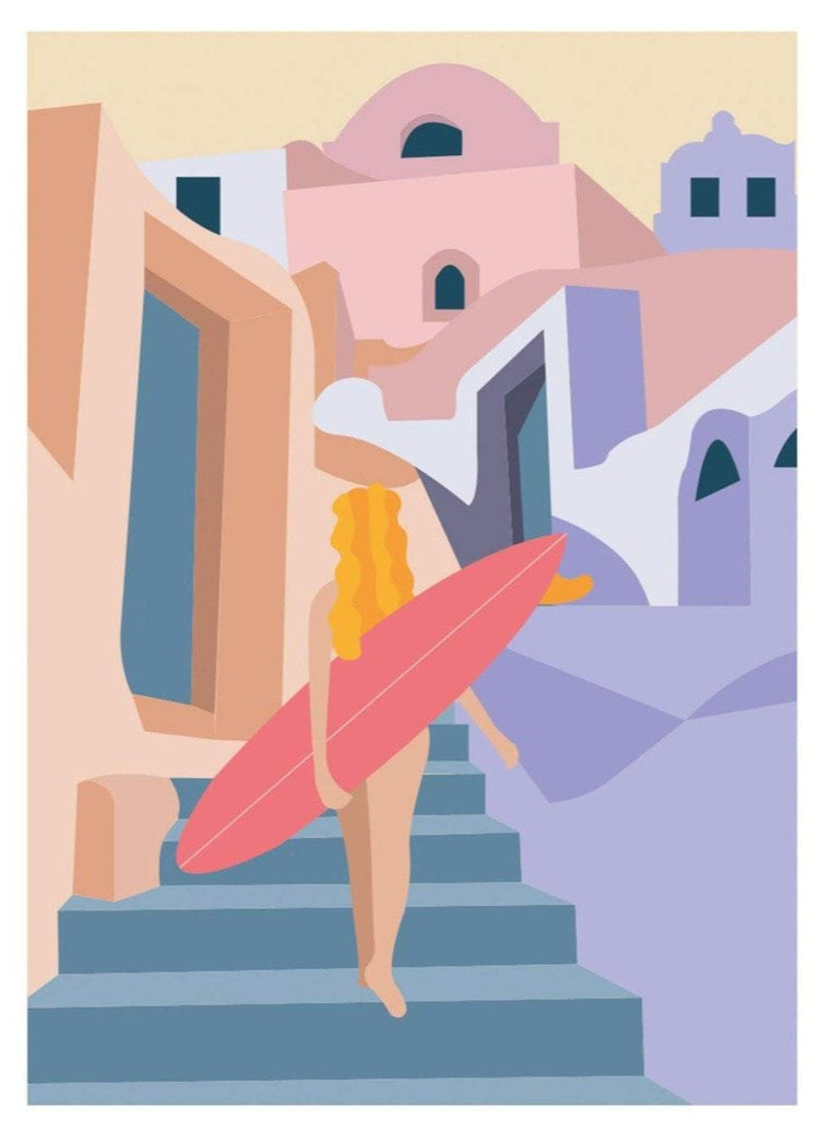 Moroccan Village Limited Art Print - Printed Originals