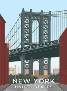 New York Limited Art Print - Printed Originals