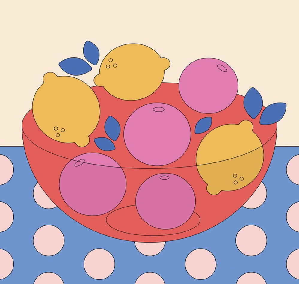 Fruit Bowl Art Print