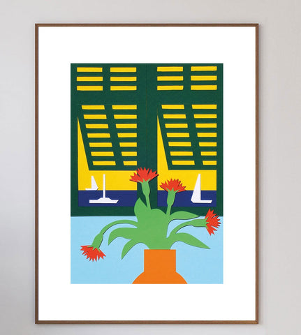 Œillets de Nice Limited Art Print