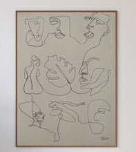 Load image into Gallery viewer, One Line P1 Limited Art Print - Printed Originals