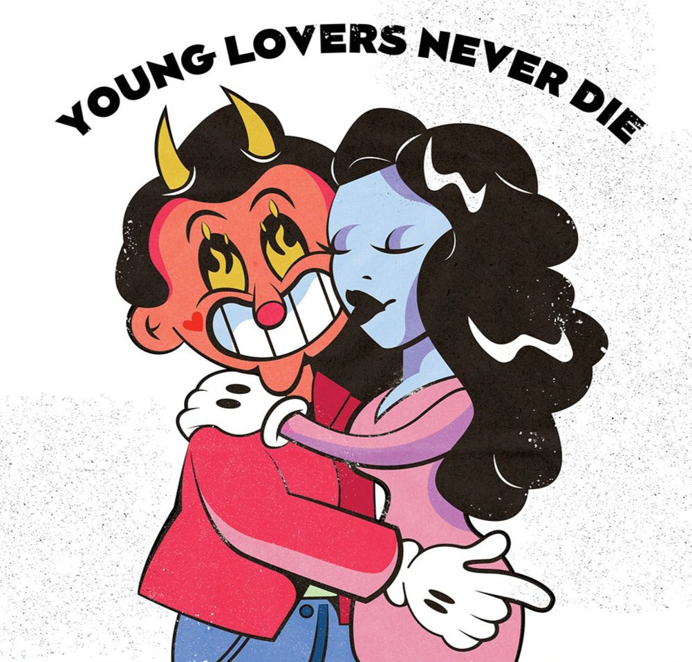 Young Lovers Never Die Limited Art Print