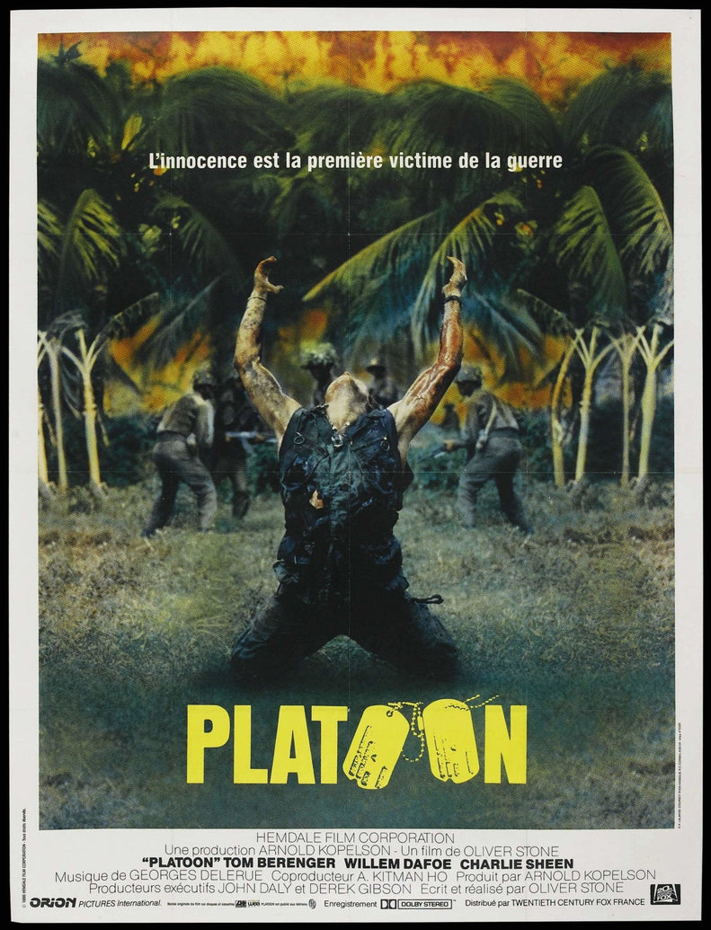 Platoon (French) - Printed Originals