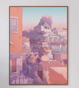 Porto Alleys II Art Print - Printed Originals