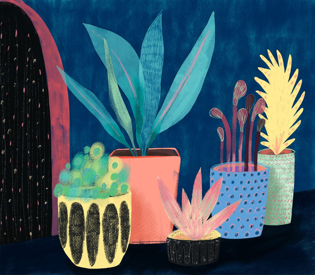 Pots Art Print - Printed Originals
