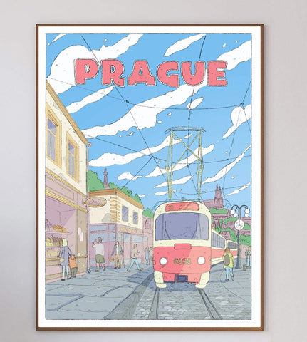 Prague Limited Art Print
