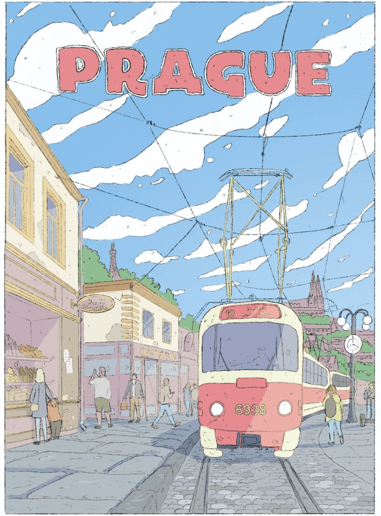Prague Limited Art Print - Printed Originals