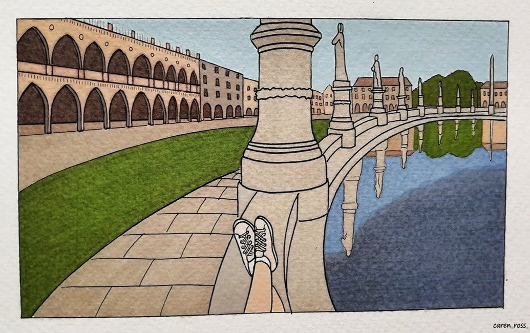 Relax in Prato Della Valee Limited Art Print - Printed Originals