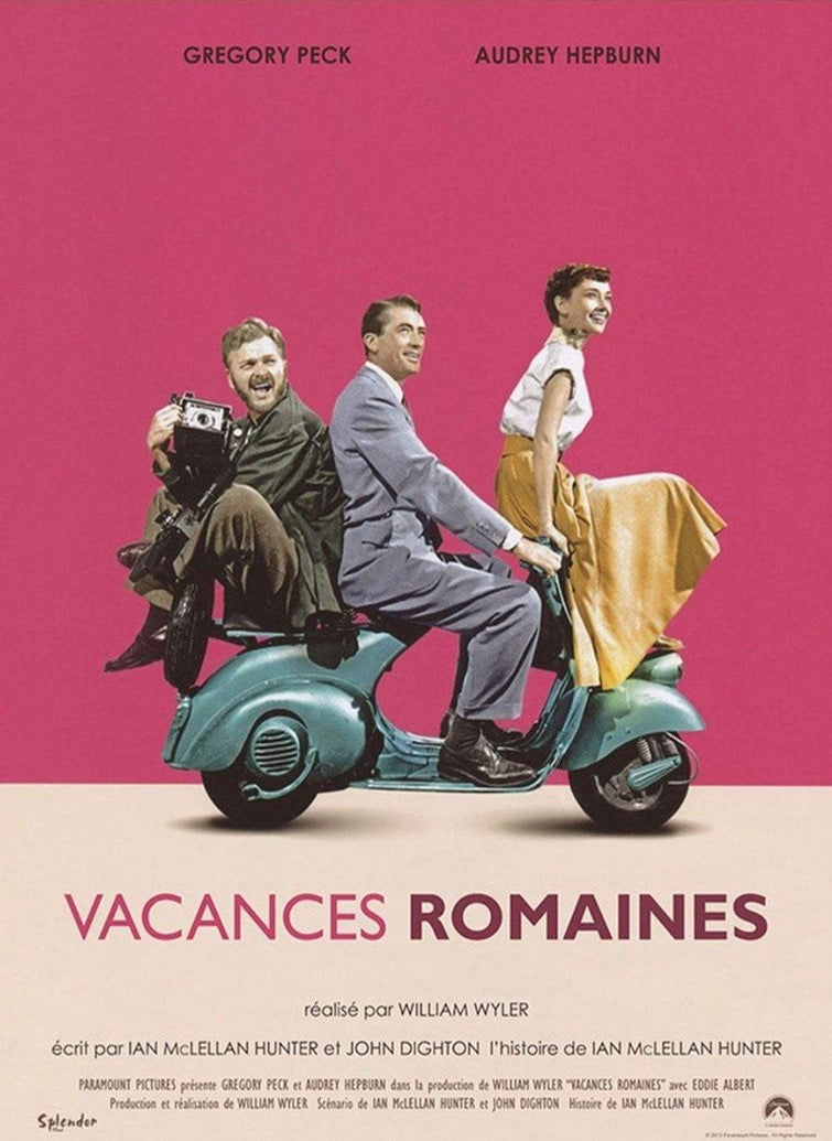 Roman Holiday (French) - Printed Originals
