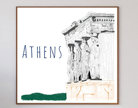 Athens Limited Art Print