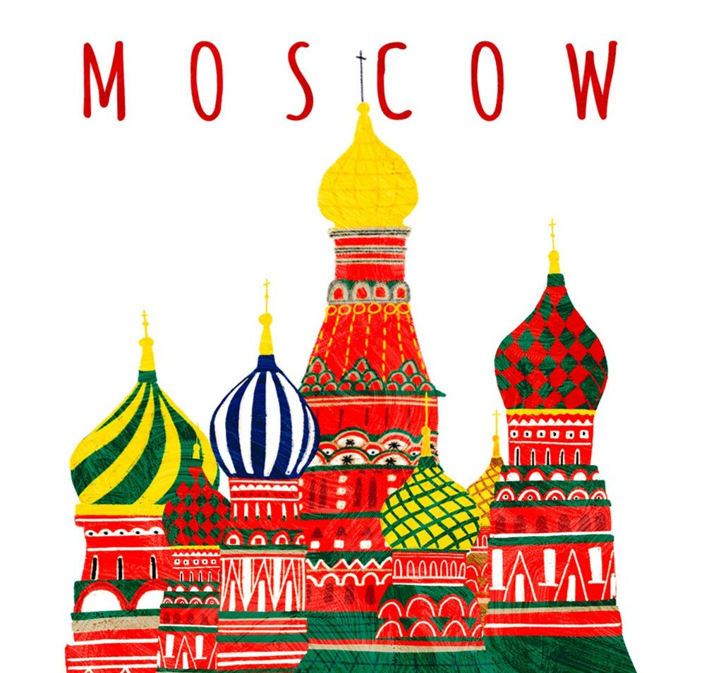 Moscow Limited Art Print