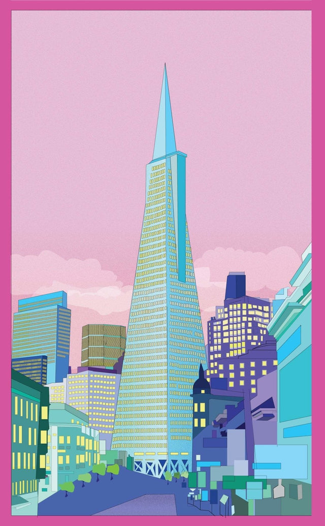 San Francisco Transamerica Tower Art Print - Printed Originals