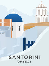 Load image into Gallery viewer, Santorini Limited Art Print - Printed Originals