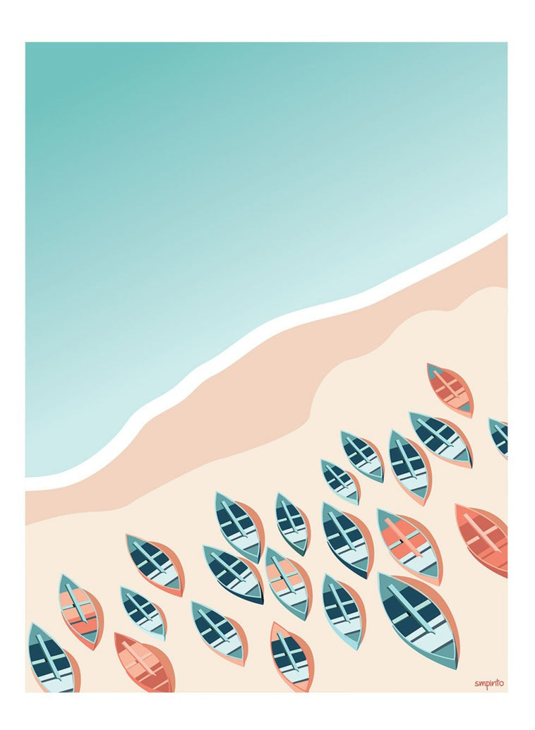 Praiano Limited Art Print