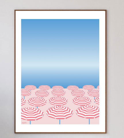 Nice France Limited Art Print