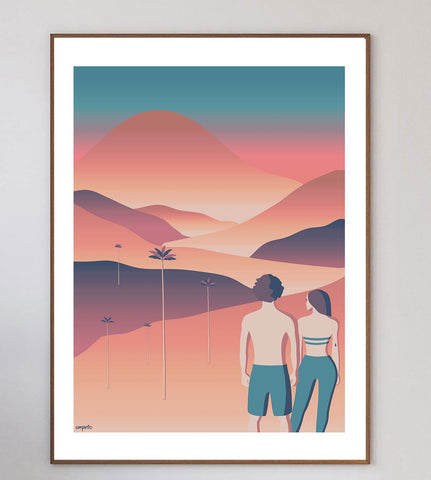 Cocora Valley Limited Art Print