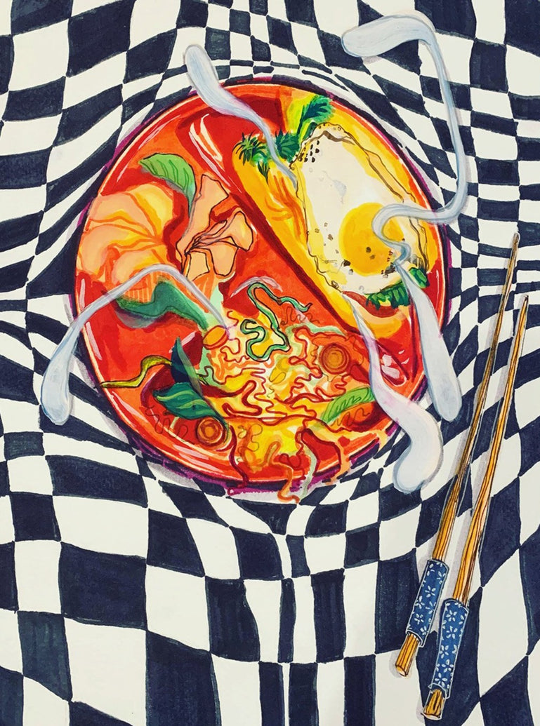Bahn Mi Still Life Limited Art Print